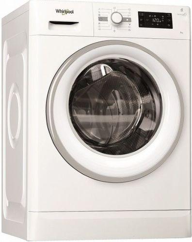 WHIRLPOOL FWG81296WS EU, bílá pračka plněná zepředu