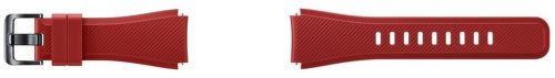 Samsung ET-YSU76MREGWW Silikónový remienok pre Gear S3 (červený)