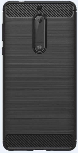 Winner Carbon pouzdro pro Nokia 5, černá