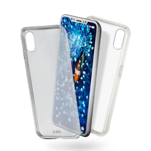 SBS Clear Fit pouzdro pro iPhone X a Xs, transparentní