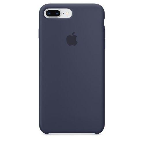 Apple Silicone Case pro iPhone 8+/7+, půlnoční modrá_01