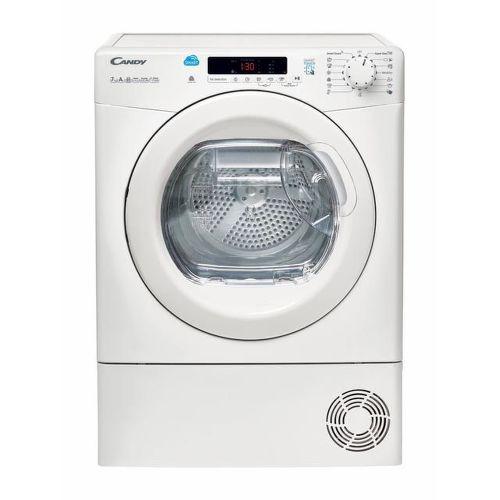 Candy CS4 H7A1DE-S Slim bílá sušička prádla