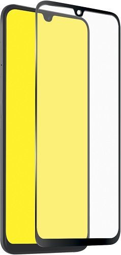 SBS Full Cover tvrdené sklo pre Samsung Galaxy A50/A30/A20, čierna