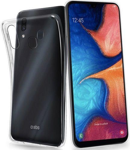 SBS silikonové pouzdro pro Samsung Galaxy A20e, transparentní