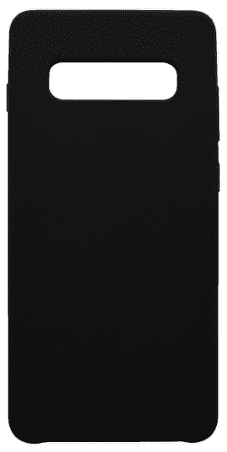 Mobilnet silikonové pouzdro pro Samsung Galaxy S10, černá