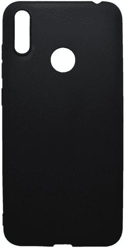 Mobilnet gumové pouzdro pro Huawei Y7 2019, černá