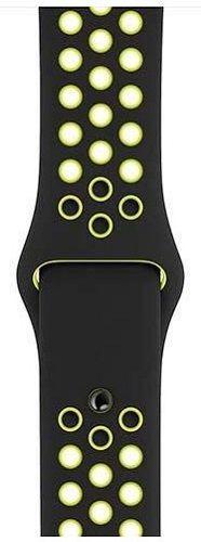 Apple Watch 44 mm Nike Sport černý řemínek