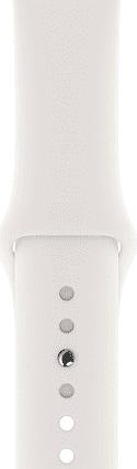 Apple Watch 44 mm řemínek Sport Band, bílá