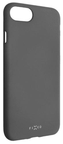 Fixed Story silikonový zadní kryt pro Huawei Y7 2019, šedá