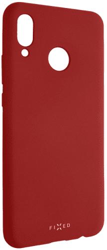 Fixed Story silikonový zadní kryt pro Huawei Nova 3, červená