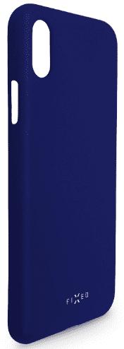 Fixed Story silikonový zadní kryt pro Huawei P30, modrá