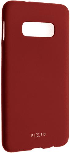 Fixed Story silikonový zadní kryt pro Samsung Galaxy S10e, červená