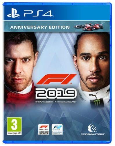 F1 2019 Anniversary Edition PS4 hra
