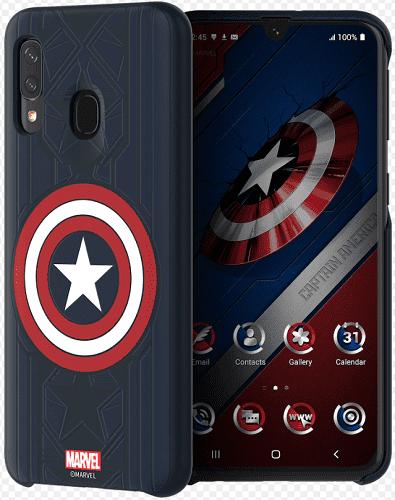Samsung Marvel pouzdro pro Samsung Galaxy A40, Captain America