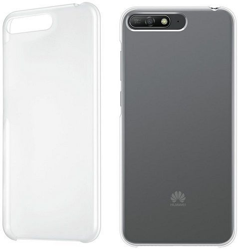 Huawei Original Protective pouzdro pro Huawei Y6 2018, transparentní