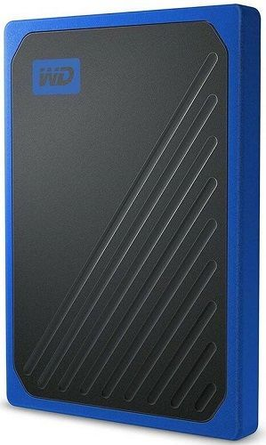 WD My Passport Go 500GB USB 3.0 modrý