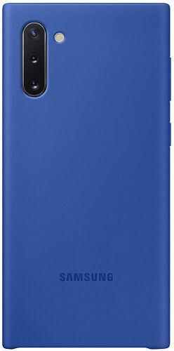 Samsung Silicone Cover pro Samsung Galaxy Note10, modrá