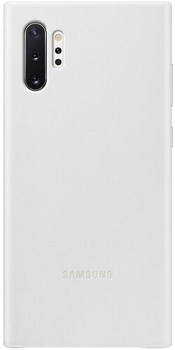 Samsung Leather Cover pro Samsung Galaxy Note10+, bílá