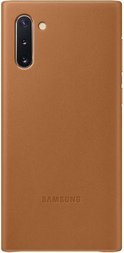 Samsung Leather Cover pro Samsung Galaxy Note10, hnědá