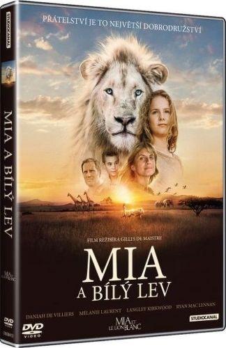 Mia a bílý lev DVD film