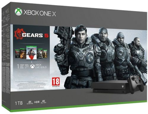 Microsoft Xbox One X 1TB + Gears 5 Standard Edition