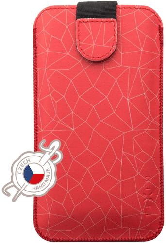 Fixed Soft Slim pouzdro vel. 4XL+ s motivem Red Mesh