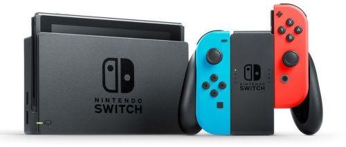 Nintendo Switch v2 (NSH006) červená/modrá