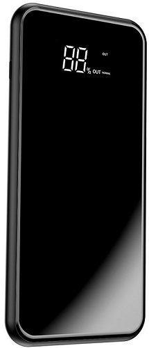 Baseus Wireless Charge powerbanka 2xUSB Qi 8000 mAh, černá