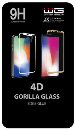 Winner 4D Edge Glue tvrzené sklo pro Samsung Galaxy Note10+, černá