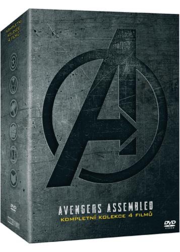 Avengers kolekce 1.-4. DVD