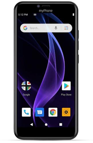 myPhone Prime 4 Lite černý