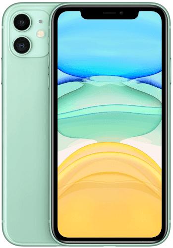 Apple iPhone 11 64 GB Green zelený