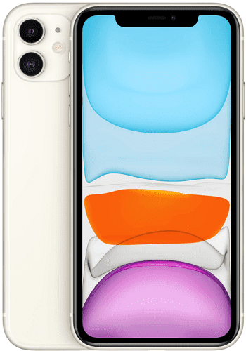 Apple iPhone 11 64 GB bílý