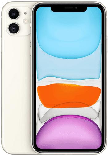 Apple iPhone 11 128 GB bílý