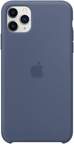 Apple silikonové pouzdro pro Apple iPhone 11 Pro Max, severský modrá