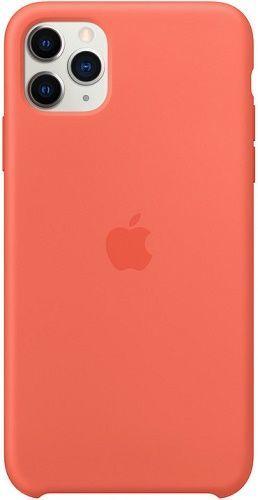 Apple silikonové pouzdro pro Apple iPhone 11 Pro Max, mandarinková