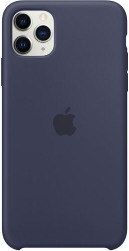 Apple silikonové pouzdro pro Apple iPhone 11 Pro Max, půlnoční modrá