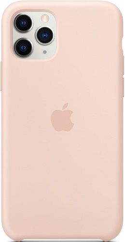 Apple silikonové pouzdro pro Apple iPhone 11 Pro, pískově růžová