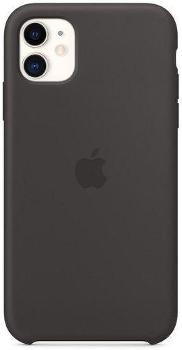 Apple silikonové pouzdro pro iPhone 11, černá