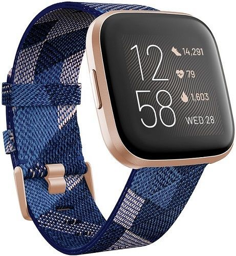 Fitbit Versa 2 Special Edition Navy/Pink Woven