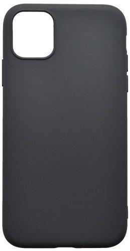 Mobilnet gumové pouzdro pro Apple iPhone 11 Pro Max, černá