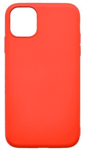 Mobilnet Soft silikonové pouzdro pro Apple iPhone 11, červená