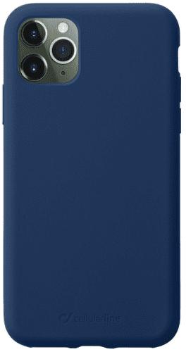 CellularLine Sensation silikonové pouzdro pro Apple iPhone 11 Pro Max, modrá