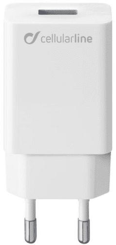 CellularLine USB nabíječka 10W, bílá
