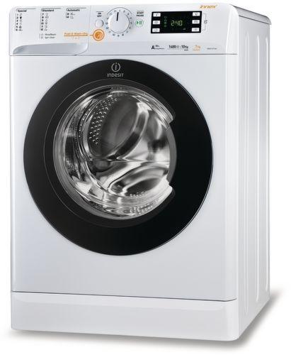 INDESIT XWDE1071481XWKKKEU, bílá pračka se sušičkou