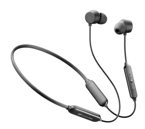 Cellularline Neckband Flexible bezdrátová sluchátka, černá
