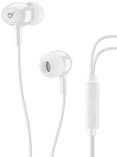 CellularLine Acoustic sluchátka, bíla
