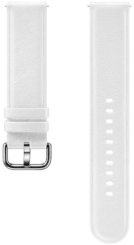 Samsung kožený řemínek pro Samsung Galaxy Watch Active2 bílý