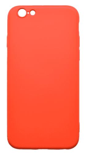 Mobilnet gumové pouzdro pro Apple iPhone 6, červená