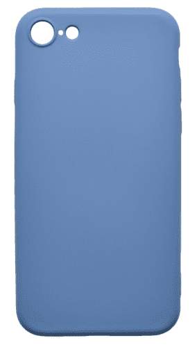 Mobilnet gumové pouzdro pro Apple iPhone 8, tmavomodrá